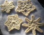 Knit Snowflakes Pattern PDF