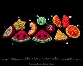 Crochet Fruit Pattern Collection PDF