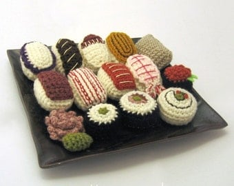 Amigurumi Sushi Pattern Collection PDF