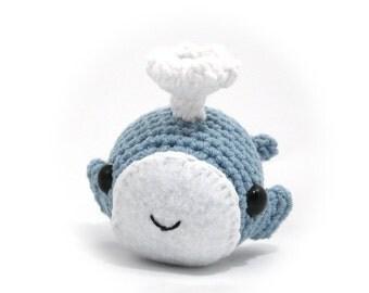 Whale, Handmade Amigurumi Toy