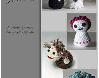 Lil Spookies Crochet Pattern Collection PDF