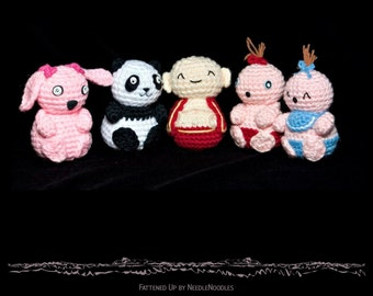 Chubby Chums Crochet Pattern Collection PDF
