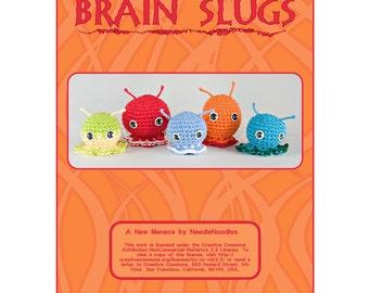 Brain Slugs Crochet Pattern Collection PDF