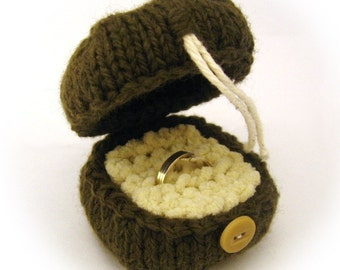 Knit Ring Box Pattern PDF