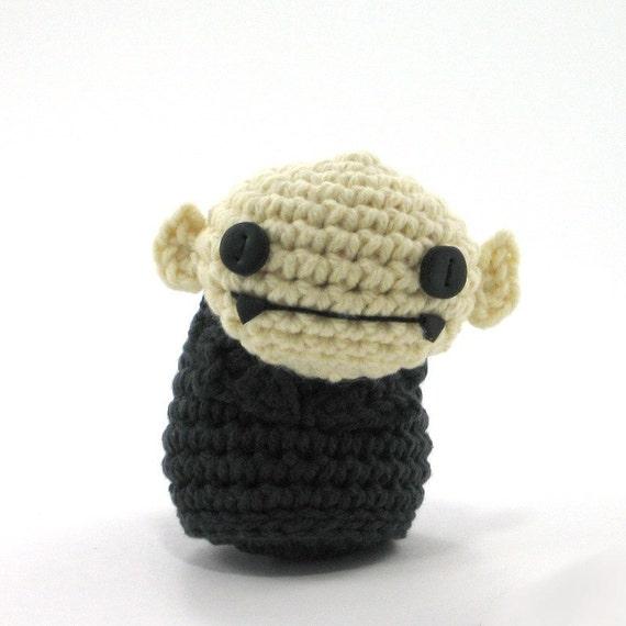 Amigurumi Etsy : Amigurumi Nosferatu by NeedleNoodles on Etsy