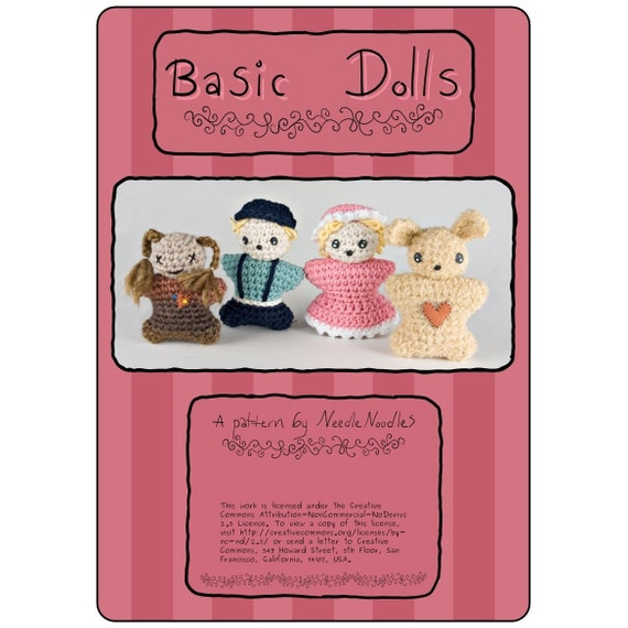 Basic Doll Crochet Pattern Collection PDF