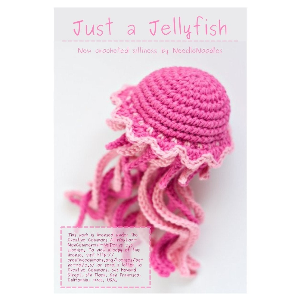 Amigurumi Jellyfish : Amigurumi Jellyfish Pattern PDF