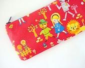 Pencil Pouch - Pencil Case -Pencil (and) Pen zipper pouch--- The wizard of Oz
