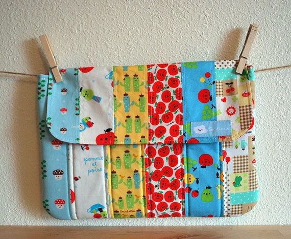 ON SALE NOW--- Laptop Sleeve--Cute decole mix---for your MacBook