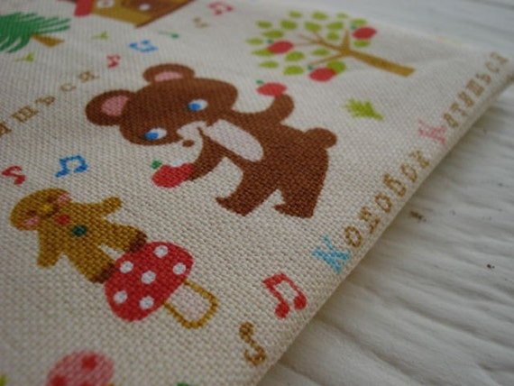 Russian fairytale- zippy pouch
