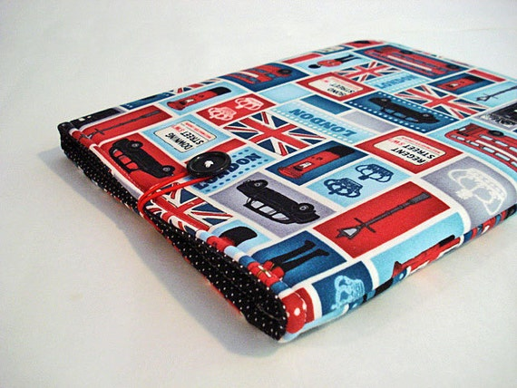 iPad case, iPad cover, iPad bag fits 1,2,3. For net books and tablets-- London London -- LAST ONE AVAILABLE