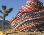 Serendipity - Hand Spun BFL Wool..Tencel.. Merino- 4.5 oz