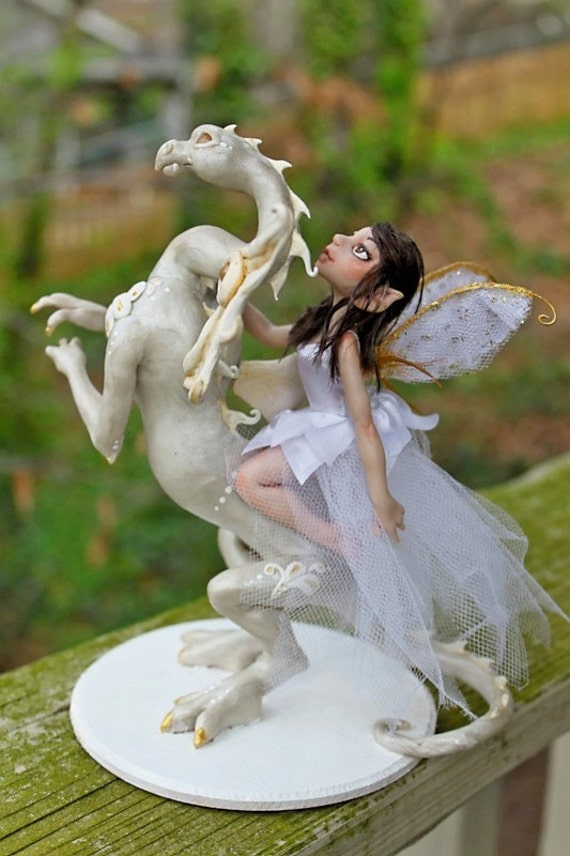 fairy wedding cake toppers and commission wedding cake topper reserved for 14112