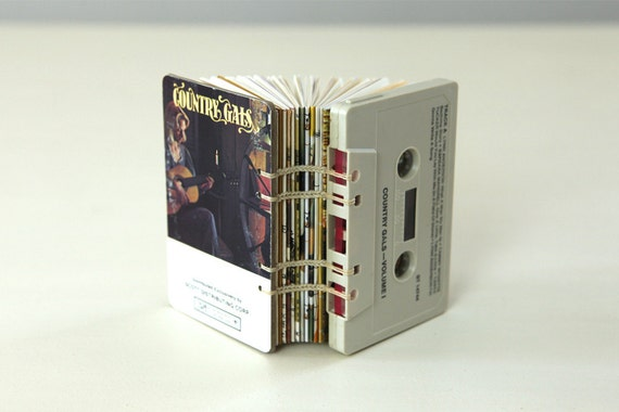Country Gals Cassette Tape Blank Book / Journal