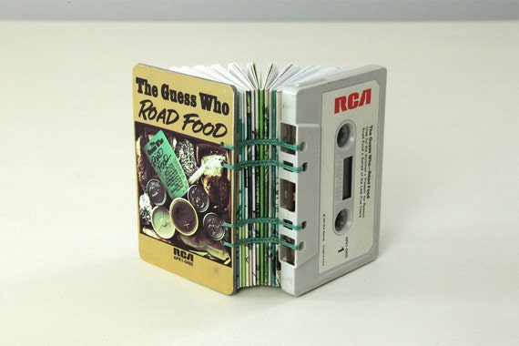 The Guess Who Cassette Tape Blank Book / Journal