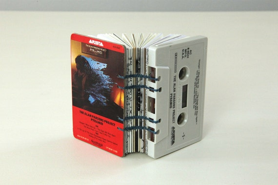 The Alan Parsons Project Cassette Tape Blank Book / Journal