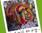 This Little Piggy... A Stuffed Toy Knitting Pattern - Guinea Pig - PDF -Digital Delivery