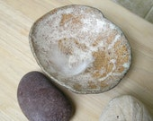 Sea Foam,  Stoneware Trinket Dish