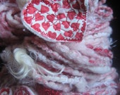 Red Hot Love - Handspun Yarn