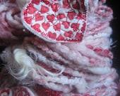 Red Hot Love - Handspun Yarn