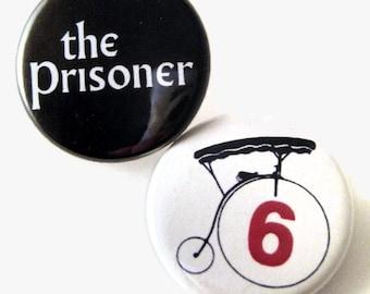 Prisoner buttons or magnets