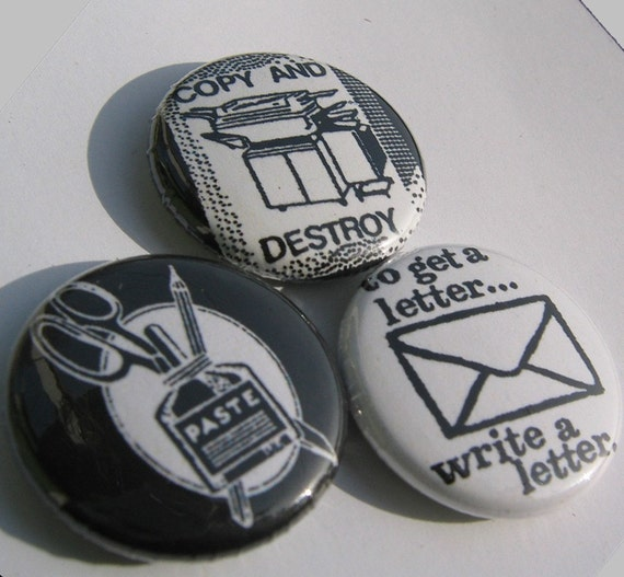 Ziney Zinester 1 inch button set