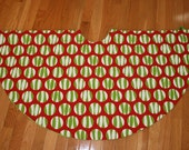 """Christmas Tree Skirt  up to a 42"""" Diameter- You CHOOSE the Fabric"""