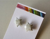 Lucky Star Origami Earrings