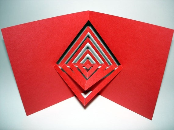 Spinning Origami Card