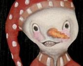 Limited Edition Original Design Snowman Doll for Christmas So Cute