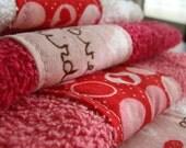 Valentines Washcloths - SALE
