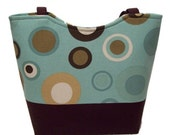 SUPER SALE TODAY Spa Bubbles SMALL Tote bag by Dees DeeZigns