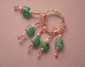 SPRING BLING THING Glass Cylinder Bead Stitch Markers