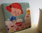 Betty Baker Tile Coaster