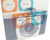 Kodak Brownie Coaster Vintage Camera