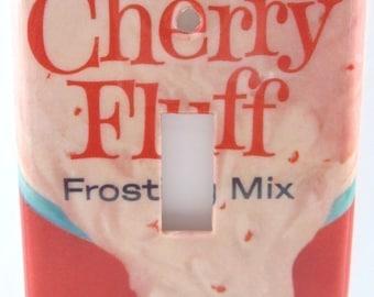 Cherry Fluff Light Switch Plate