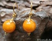 Honey Jade Earrings