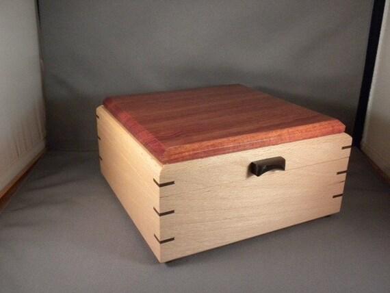 Beech & Bloodwood Keepsake Box