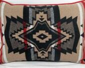 Pendleton Wool Blanket Pillow 24 x16