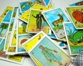 42pcs MINIATURE LOTERIA CARDS Complete Game