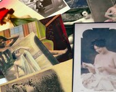 12pcs Vintage NUDE & RISQUE CLIPPINGS Mature