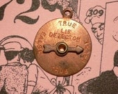 60s Vintage LIE DETECTOR Moveable Charm