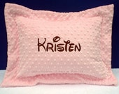 Personalized Pillows , Personalized Toddler Pillow , Toddler Pillow Sham , Custom Name Pillow - Available in Any Color