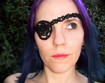 Tatted Eye Patch - The Rose Tattoo
