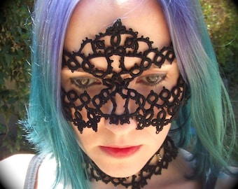 Tatted Lace Mask - Down In The Underground