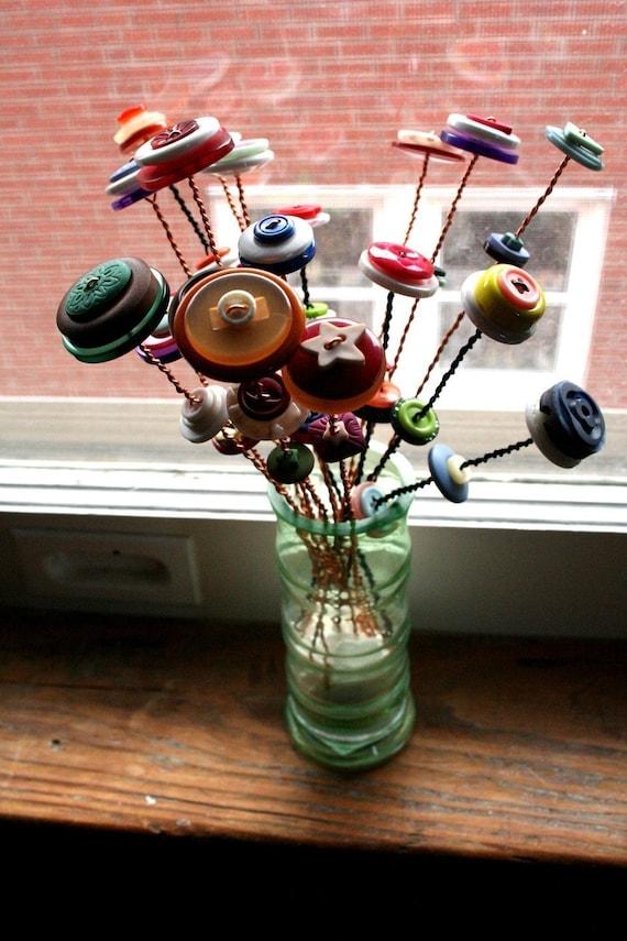 THE Button Bouquet