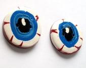 I See You Giant Eyeball Handmade Polymer Clay Buttons