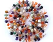 Versatile Jumprope Necklace in Agate
