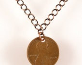 Custom Penny Necklace - Choose your year