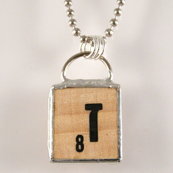 hebrew scrabble letter pendant necklace by xohandworks on etsy